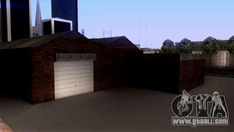 New LSPD garage for GTA San Andreas forth screenshot