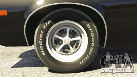GTA 5 Ford Gran Torino Sport 1972 [Beta] rear right side view