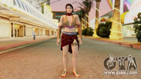 Zafina from Takken 6 v1 for GTA San Andreas second screenshot