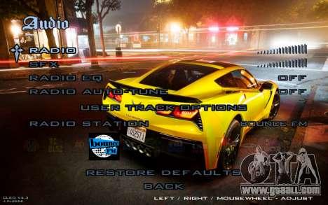 Night Menu for GTA San Andreas forth screenshot