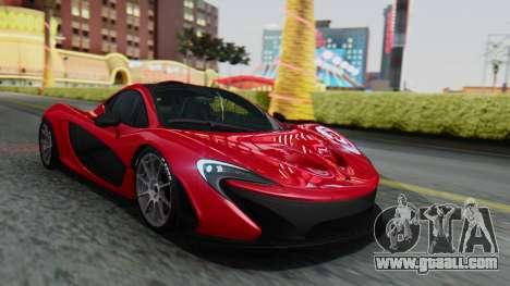 Progen T20 for GTA San Andreas side view