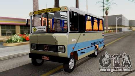 Mercedes-Benz LO-608D Paraguay School Bus for GTA San Andreas