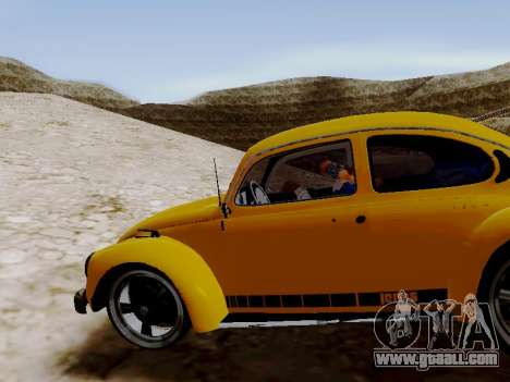 Volkswagen Beetle 1975 Jeans Edition Custom for GTA San Andreas