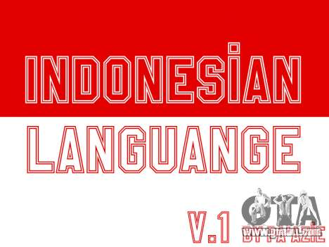 Indonesian Subtitle (In-Game Only) for GTA San Andreas