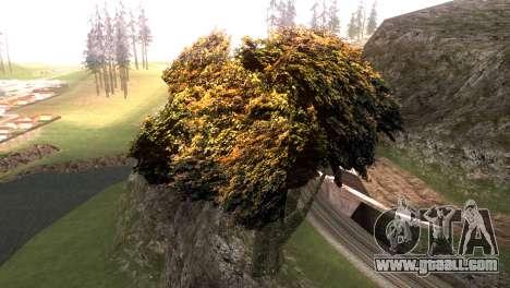 Vegetation Original Quality v3 for GTA San Andreas