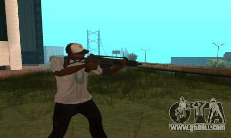 GTA 5 Special Carbine for GTA San Andreas second screenshot