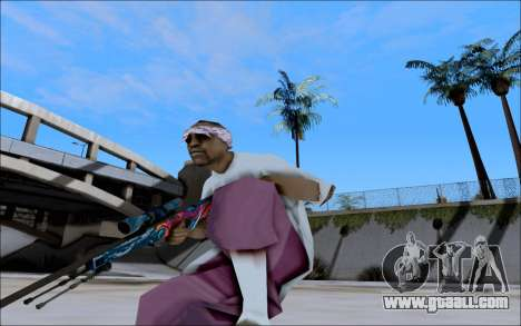 AWP Hyper Beast for GTA San Andreas second screenshot