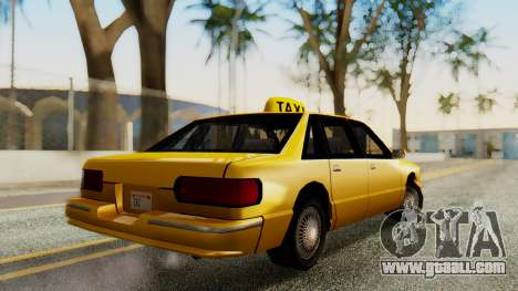 Declasse Premier Taxi for GTA San Andreas left view