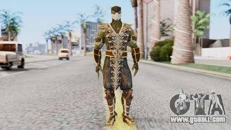 [MKX] Reptile for GTA San Andreas second screenshot