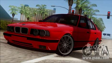 BMW M5 E34 BUFG Edition for GTA San Andreas left view