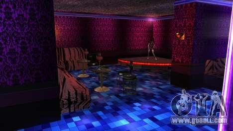 Retextured interior strip clubs for GTA San Andreas forth screenshot