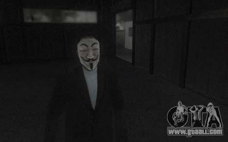 DayZ Mask for GTA San Andreas second screenshot