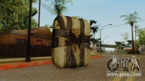 Original HD Satchel for GTA San Andreas second screenshot