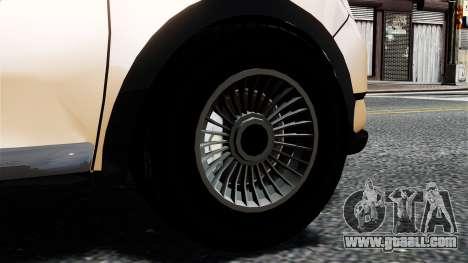 Dacia Logan MCV Stepway 2014 for GTA 4 back left view