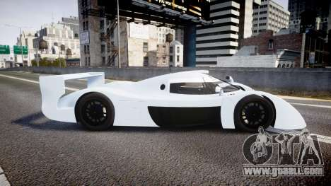 Toyota GT-One TS020 blank spoiler for GTA 4 left view