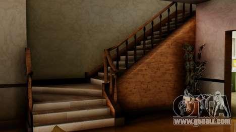 The new interior of CJ house for GTA San Andreas sixth screenshot