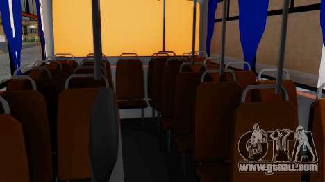 Mercedes-Benz LO-608D Paraguay School Bus for GTA San Andreas back view