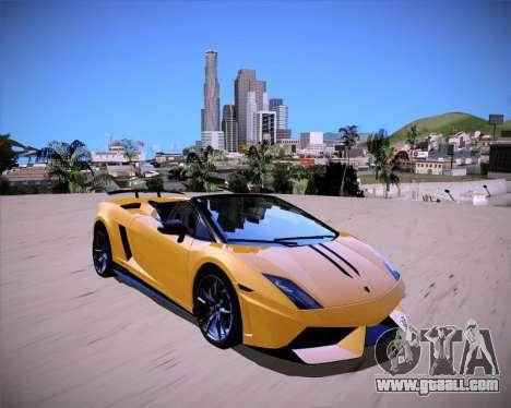 ENB Benyamin for Low PC for GTA San Andreas