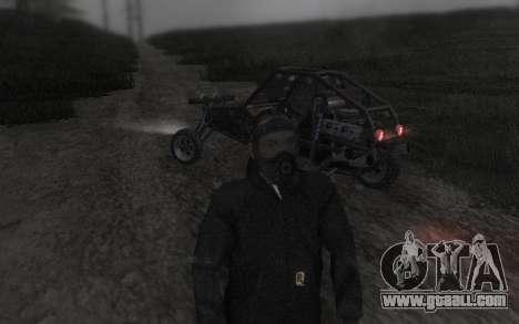 GTA5 Gasmask for GTA San Andreas sixth screenshot