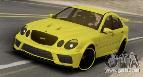 Mercedes-Benz E63 Qart Tuning for GTA San Andreas back left view
