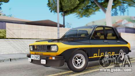Renault 12 Alpine for GTA San Andreas