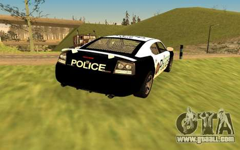 Dodge Charger Super Bee 2008 Vice City Police for GTA San Andreas left view