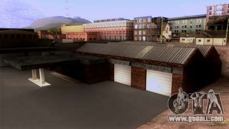 New LSPD garage for GTA San Andreas