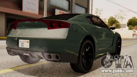 GTA 5 Annis Elegy RH8 SA Style for GTA San Andreas left view