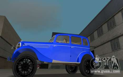 GAZ 11-73 Royal Blue for GTA Vice City left view