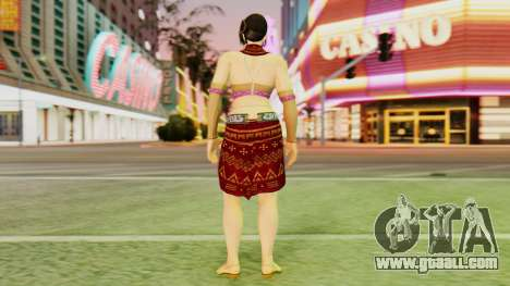 Zafina from Takken 6 v1 for GTA San Andreas third screenshot