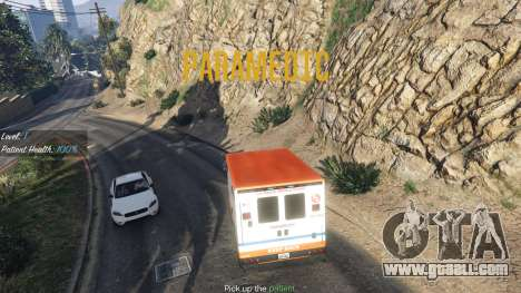 Mission ambulance v.1.3 for GTA 5