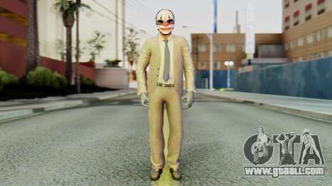 [PayDay2] Chains for GTA San Andreas second screenshot