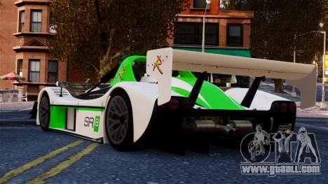 Radical SR8 RX 2011 for GTA 4 back left view
