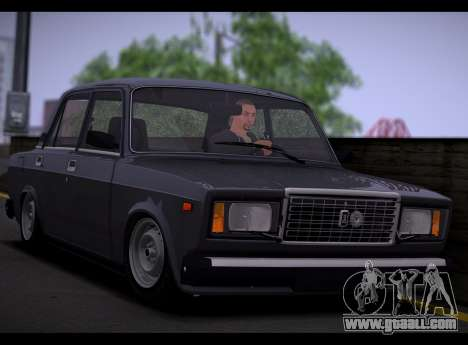 VAZ 2107 Runoff Quality for GTA San Andreas left view