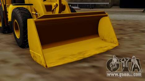 GTA 5 HVY Dozer for GTA San Andreas right view