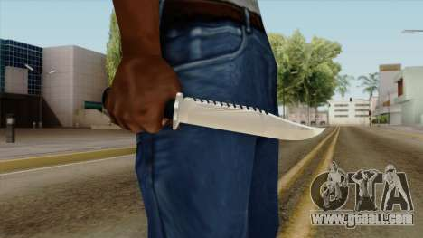 Original HD Knife for GTA San Andreas third screenshot