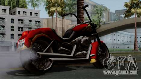 Freeway Avenger for GTA San Andreas left view