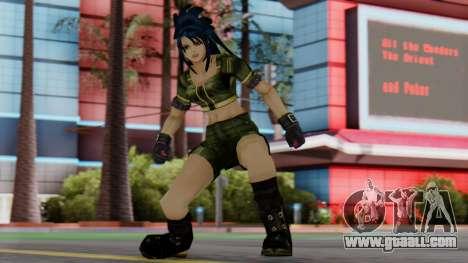 Leona from KoF Maxium Impact for GTA San Andreas