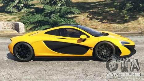 McLaren P1 2014 for GTA 5