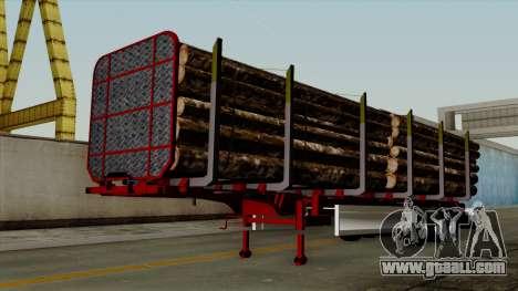 Trailer Fliegl v2 for GTA San Andreas