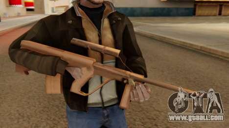 Steyr AUG from GTA VC Beta for GTA San Andreas third screenshot
