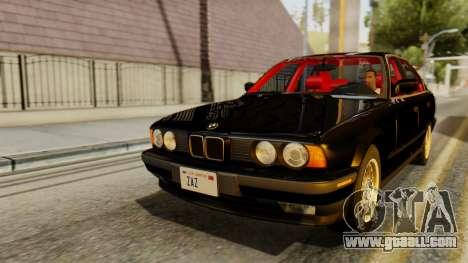 BMW 535i E34 1993 for GTA San Andreas