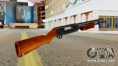 Xshotgun Pump action shotgun for GTA San Andreas second screenshot