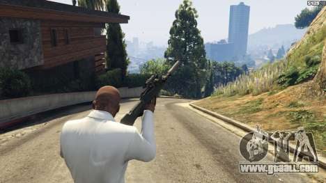 GTA 5 Battlefield 4 Famas fourth screenshot