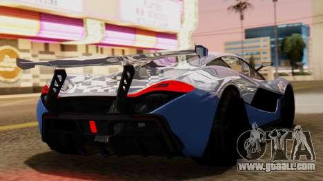 Progen T20 GTR for GTA San Andreas left view