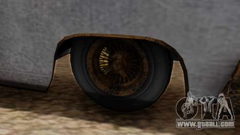 GTA 5 Declasse Voodoo Worn for GTA San Andreas back left view