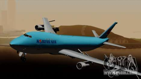 Boeing 747 Korean Air for GTA San Andreas