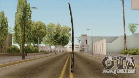 Original HD Katana for GTA San Andreas second screenshot