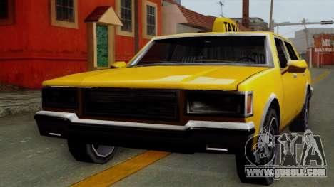 Classic Taxi Los Santos for GTA San Andreas