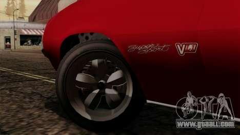GTA 5 Declasse Vigero IVF for GTA San Andreas right view